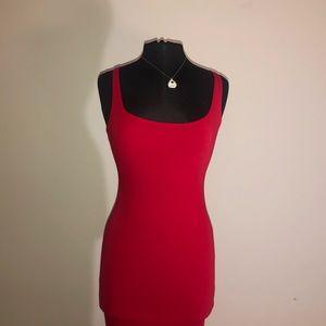 Sexy Knee Length Red Dress